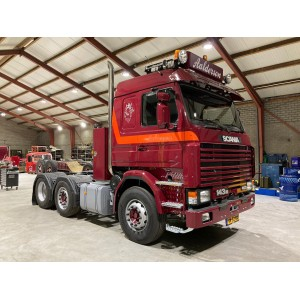 SCANIA 143 M TRACTEUR SOLO